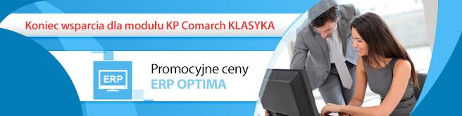 Koniec sprzedaży i wsparcia dla modułu KP w Comarch ERP Klasyka